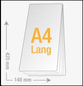 A4 lang (148x420)