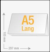 A5 lang quer (297x105)