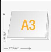 DIN A3 quer (420x297)